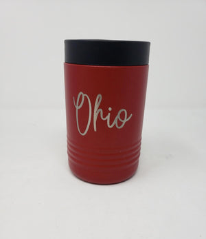 Ohio Script Beverage Holder