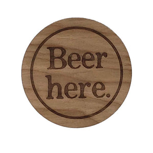 Beer Here Coasters
