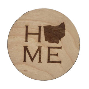 Ohio Home Coaster Set
