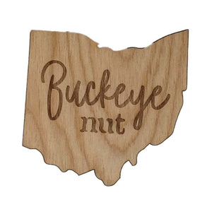 Buckeye Nut Coaster set