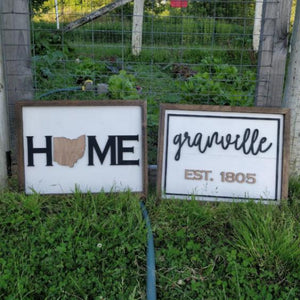 Personalized Modern Farmhouse Signs