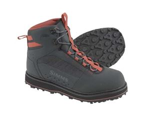 Simms Tributary Wading Fishing Boot:  Rubber Sole