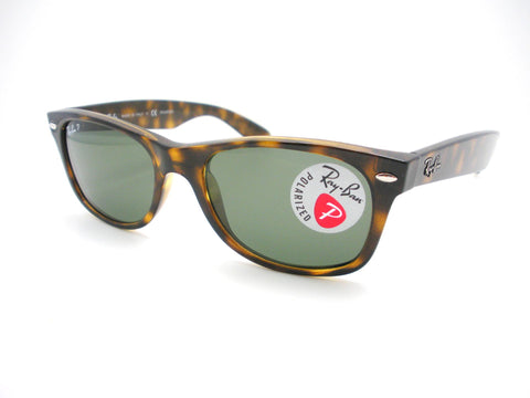 Ray Ban New Wayfarer 2132 902/58 Tortoise Polarized