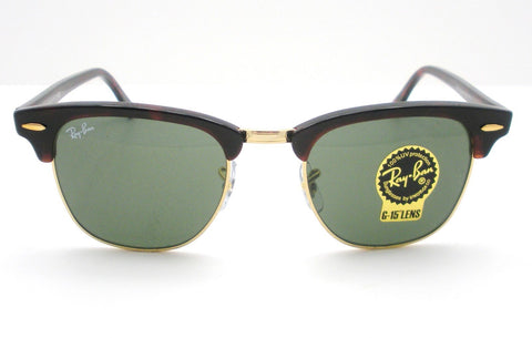 Ray Ban RB 3016 W0366 Clubmaster Tortoise