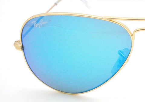 LENSES ONLY:  Ray Ban 3025 112/17 Blue Mirror