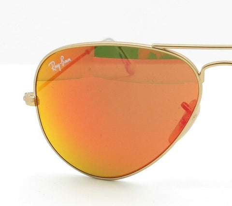 LENSES ONLY:  Ray Ban 3025 112/69 Orange Mirror