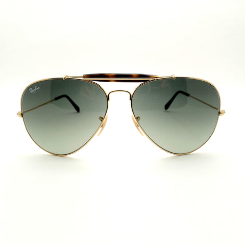 Ray Ban 3029 181/71 62 Gold Havana Outdoorsman