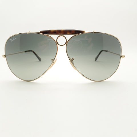 Ray Ban 3138 181/71 62 Gold G15 Shooter
