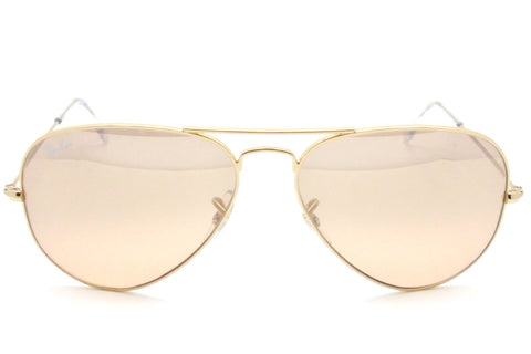 Ray Ban 3025 001/3E Gold Pink Brown