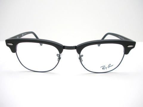 Ray Ban RB 5154 2077 49 Clubmaster Matte Black