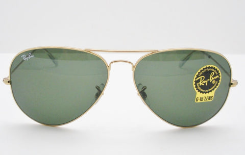 Ray Ban 3026 Large Aviator II Gold L2846