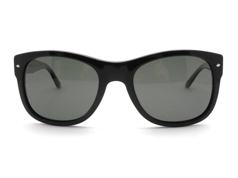 Giorgio Armani AR 8008 5017/58 Black Polarized Green