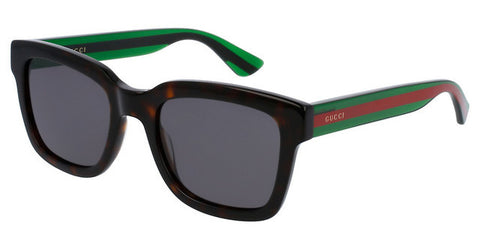 Gucci GG0001S 003 Havana Green Red