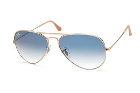 Ray Ban 3025 001/3F Gold Blue Gradient