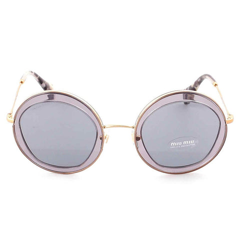 Miu Miu 50Q ROY-3C2 Transparent Grey