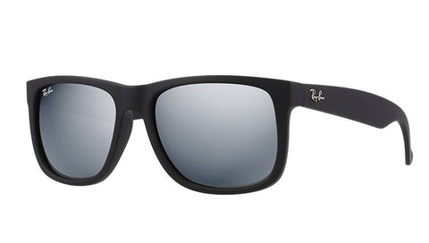 Ray Ban 4165 622/6G Black Rubber Grey Mirror