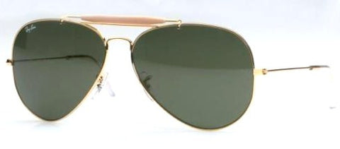 Ray Ban 3029 L2112 62 Gold G15 Outdoorsman
