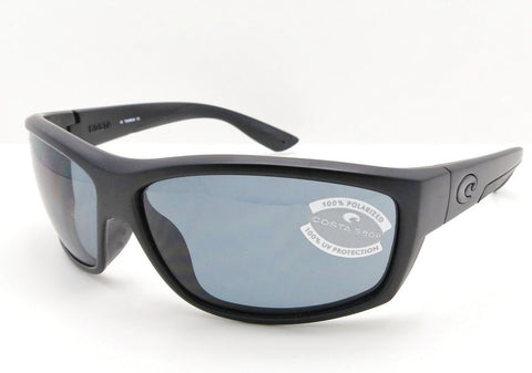 Costa Del Mar Saltbreak Blackout 580P Grey Polarized