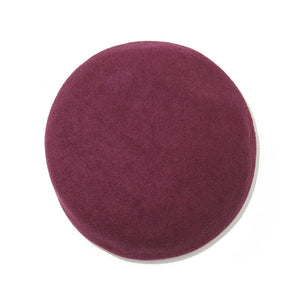 Wool Beret / PURPLE