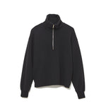 Half Zip Turtle Neck Cut-Sewn BLACK