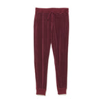 Velour Pants / BURGUNDY