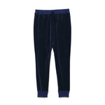 Velour Pants / NAVY