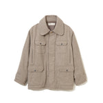 Recycle Wool Hunting Jacket BEIGE
