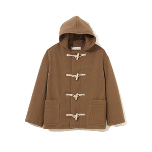 Short Duffle Coat BROWN