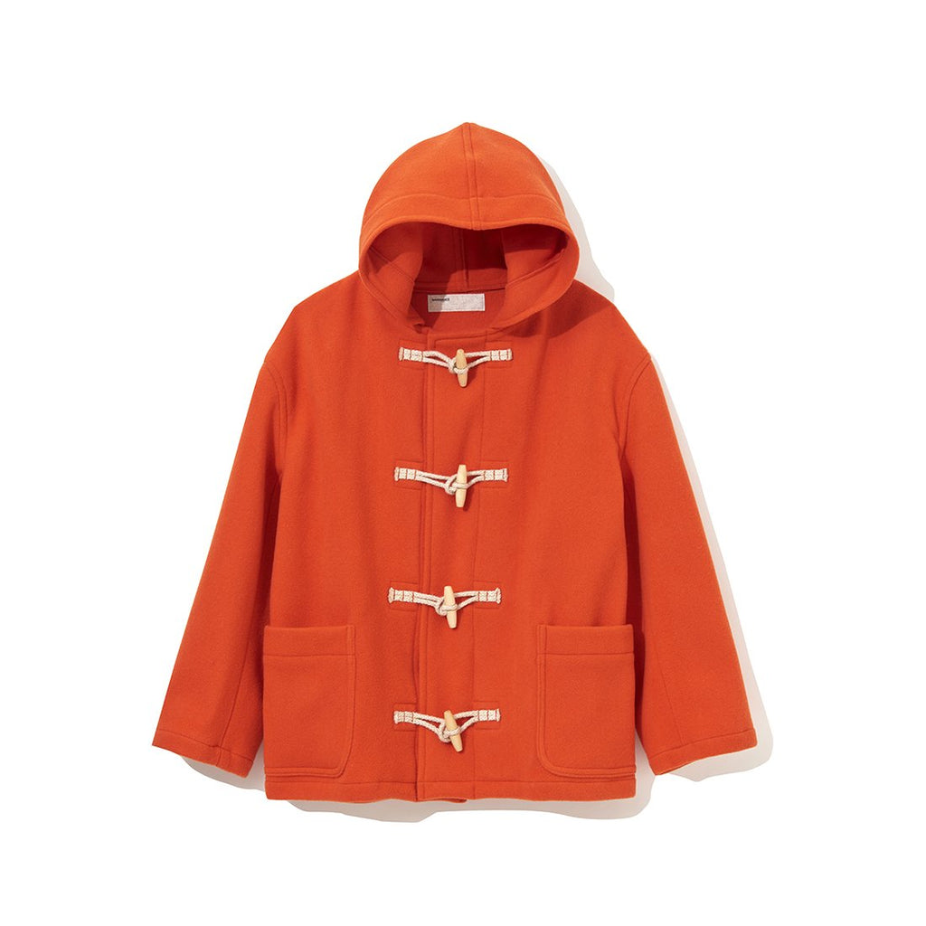 Short Duffle Coat ORANGE