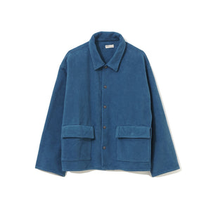 Fleece Shirt Jacket / BLUE