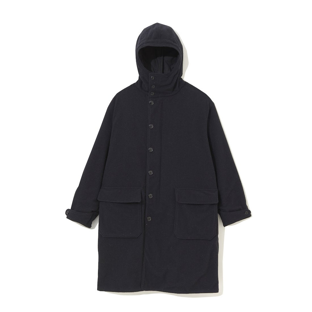 Reversible Military Coat BLACK