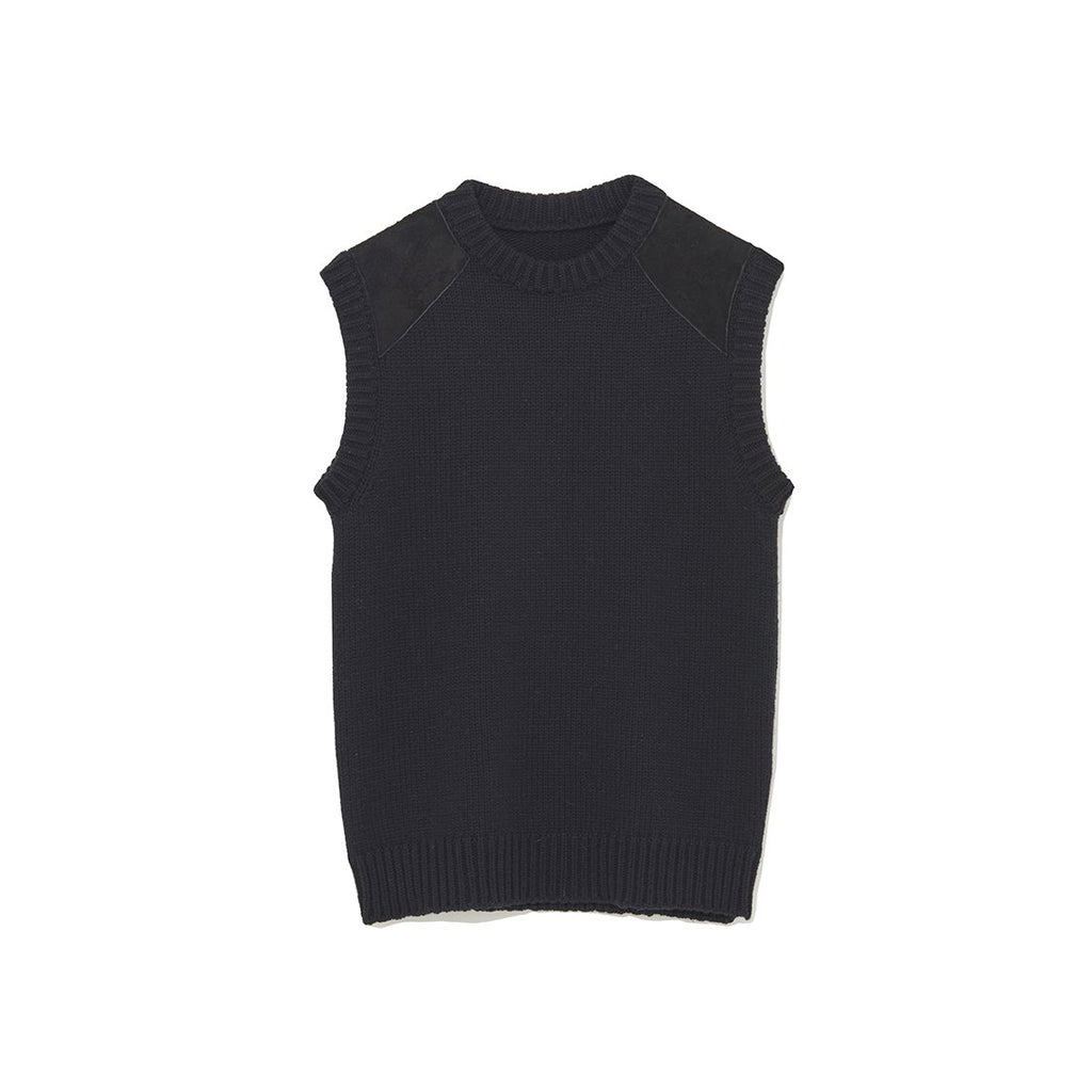 Sleeveless Knit Black