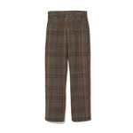 Plaid Work Pants KHAKI
