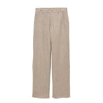Recycle Wool Work Pants BEIGE