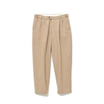 Pleated Pants BEIGE