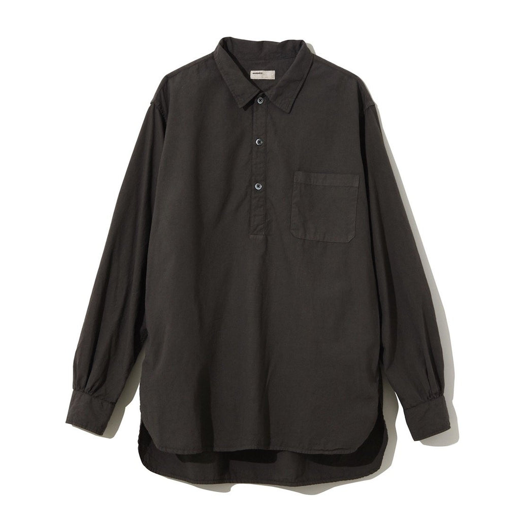 Pullover Long Shirt CHARCOAL GRAY