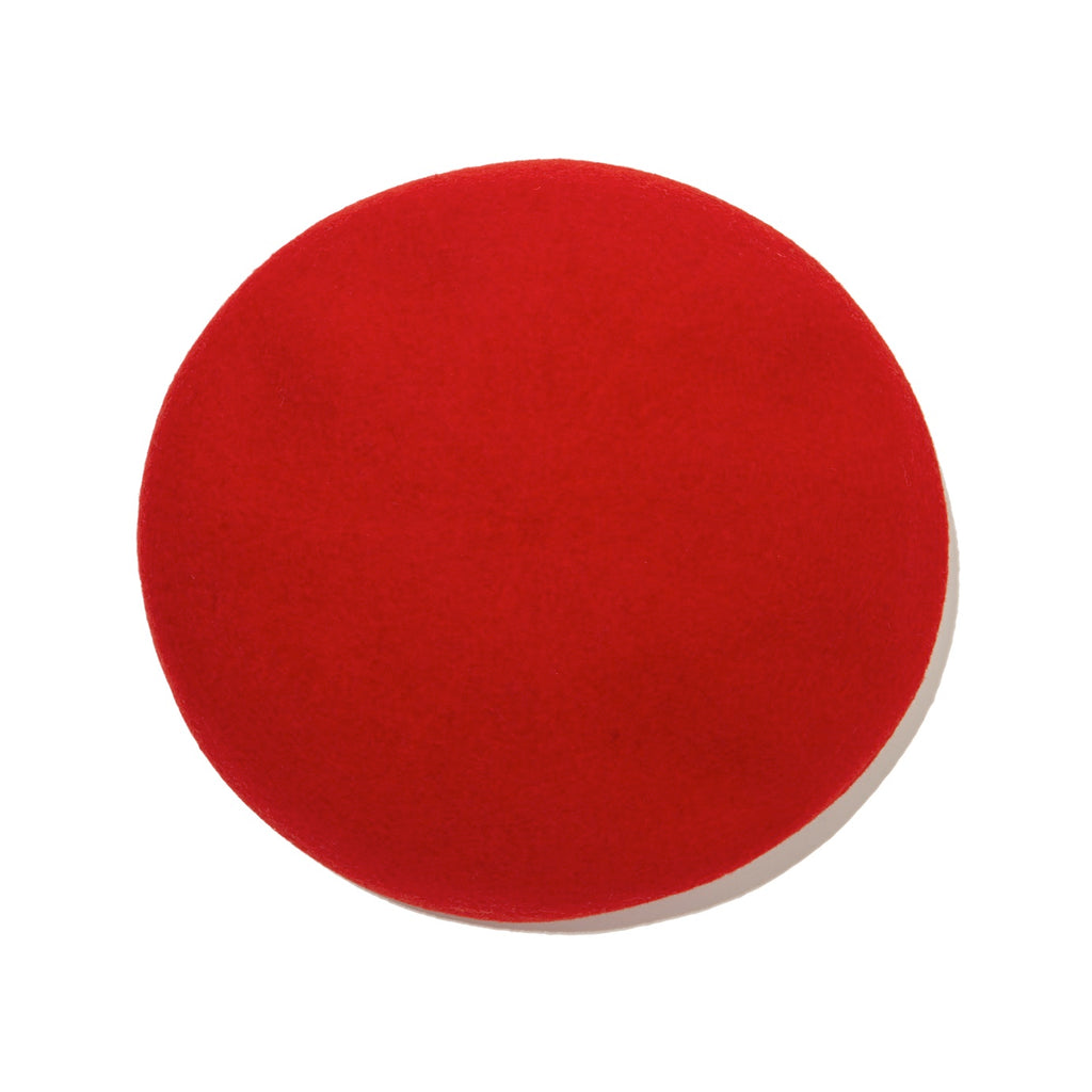 Wool Beret / RED (19A-NSA-AC-01)