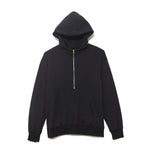 Half Zip Parka / BLACK