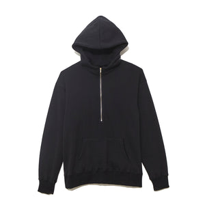 Half Zip Parka / BLACK (19A-NSA-CS-01)