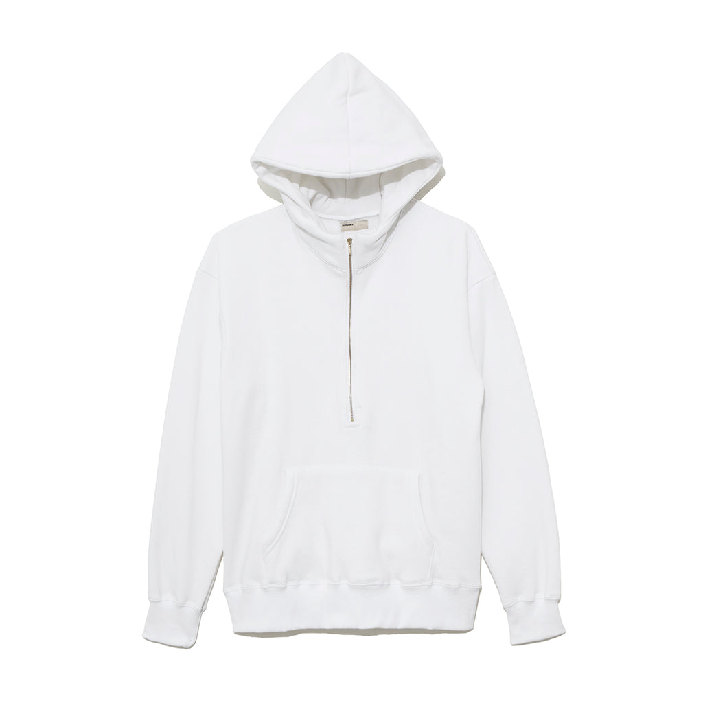 Half Zip Parka / WHITE (19A-NSA-CS-01)