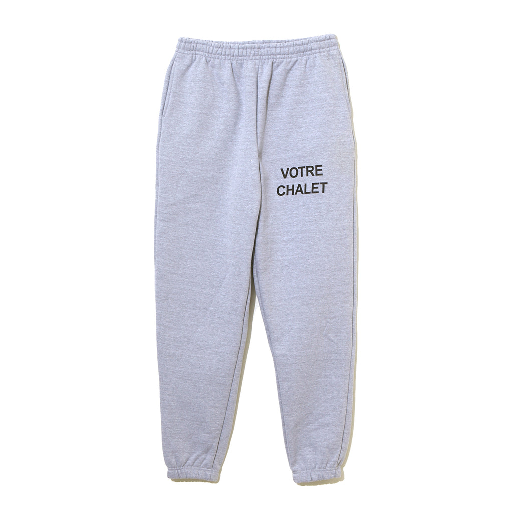 Graphic Sweat Pants / GRAY