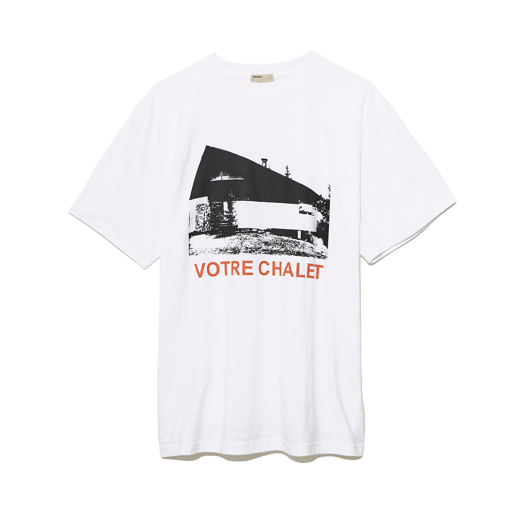 Graphic T-Shirt B / WHITE