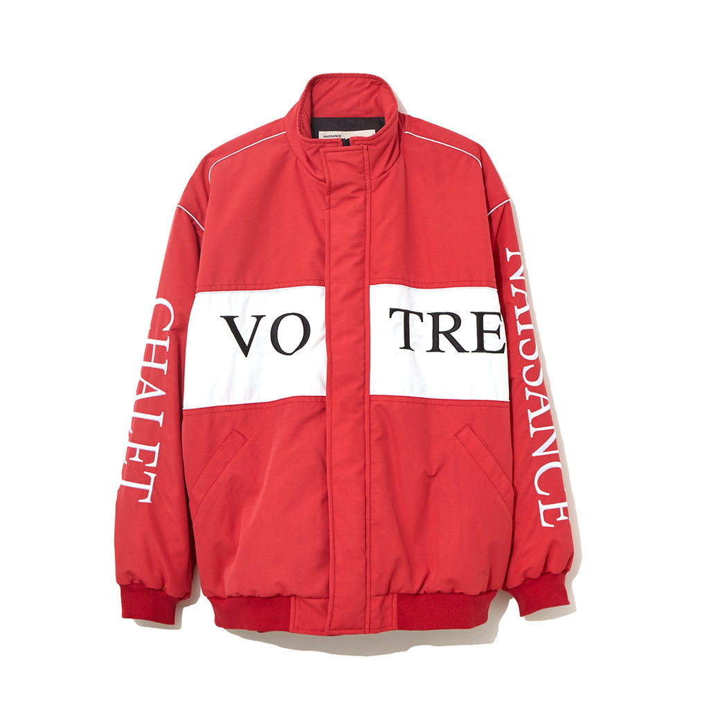 DRIVER JACKET / RED