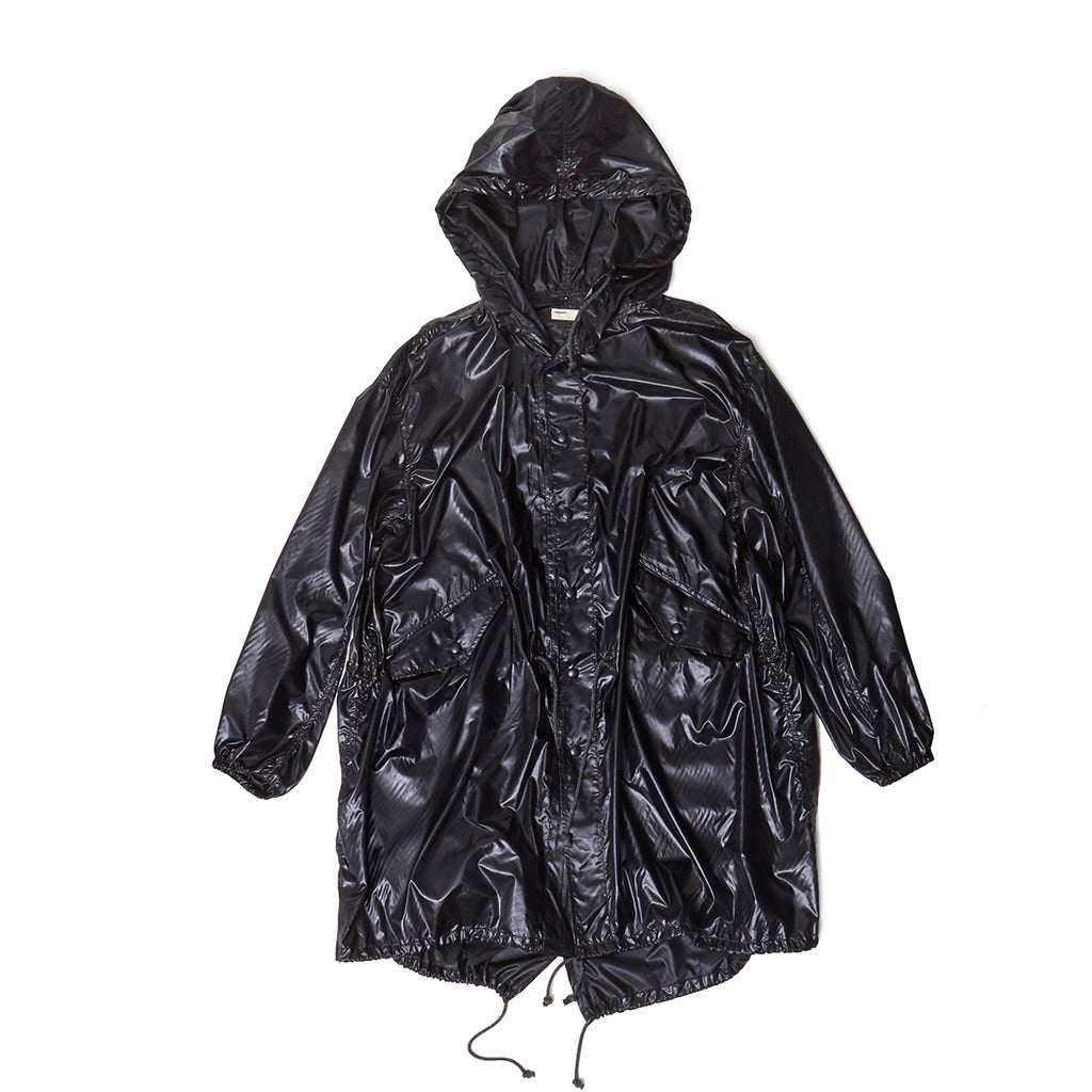 NYLON COAT / BLACK