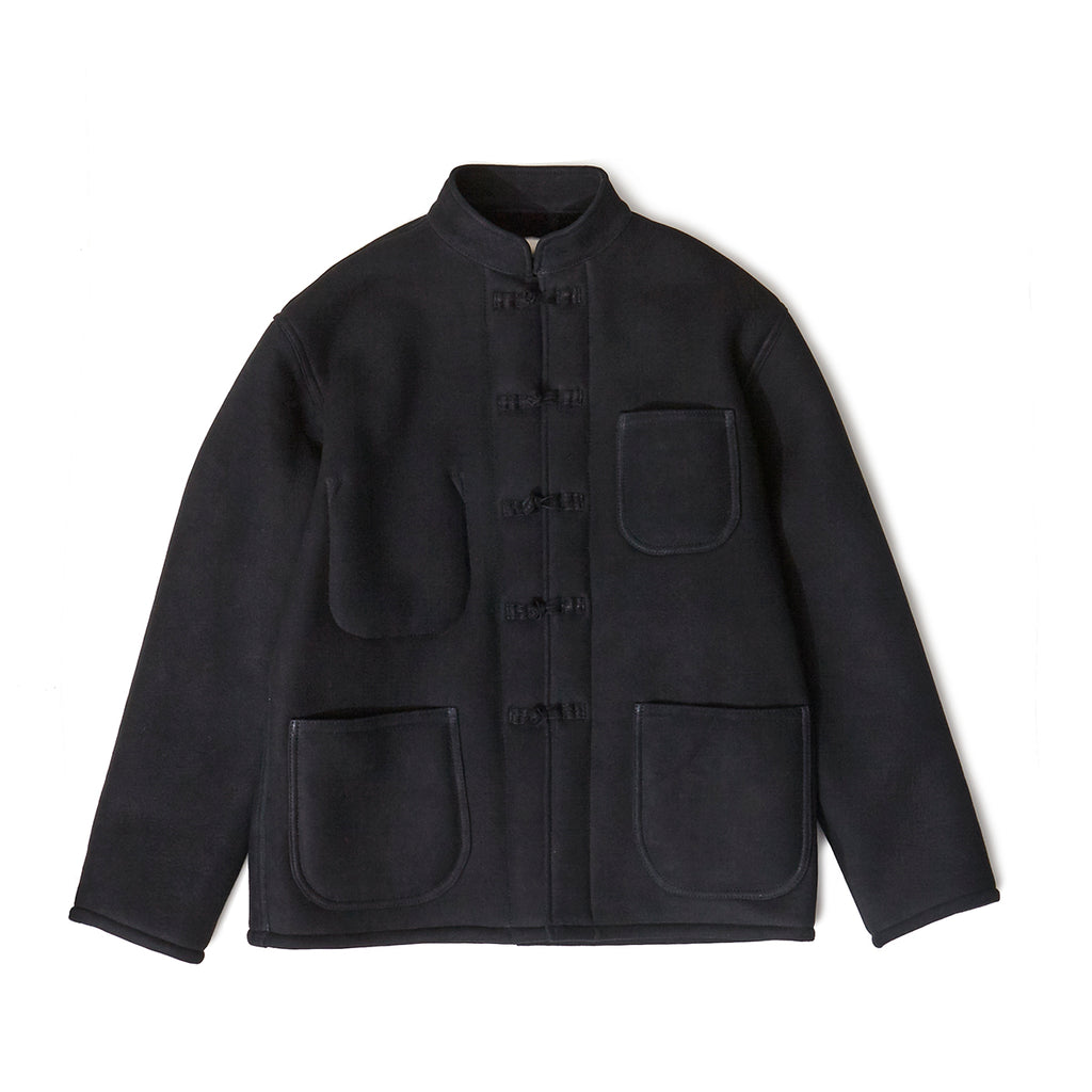 MOUTON CHINA JACKET / BLACK