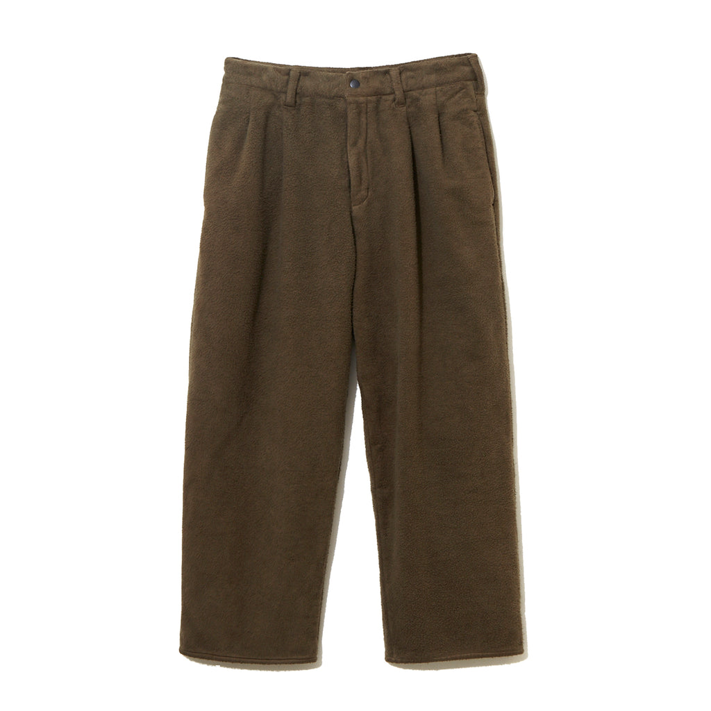FLEECE PANTS / BROWN