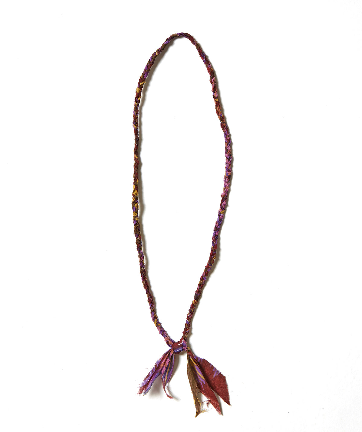 Braid Necklace / PURPLE