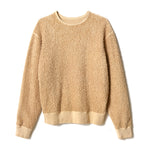 Reversible Loopwheel Sweatshirt / BEIGE