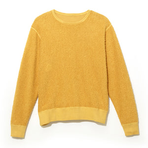 Reversible Loopwheel Sweatshirt / YELLOW (19S-NSA-CS-03)
