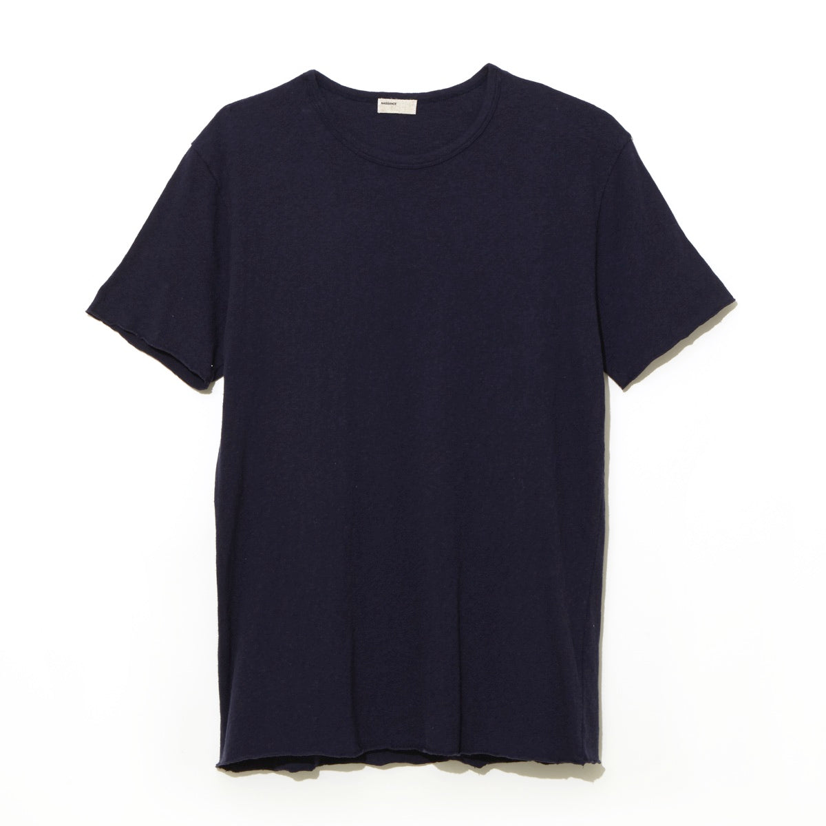 Cotton Silk T-Shirt / NAVY